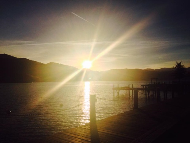 Campbell Resort at Lake Chelan, Washington by Kristin Meador