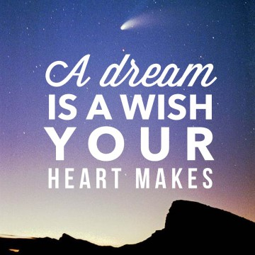 What is Your Dream? (Two Questions to Help You Find It ...A Dream Is A Wish Your Heart Makes