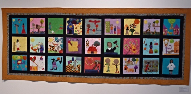 """Ali Eminov """"Girls of Sudam"""" The Quilted Conscience Project"""