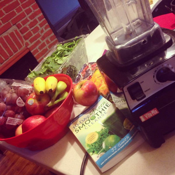 Confessions Of A Food Addict Starting The 10-Day Green